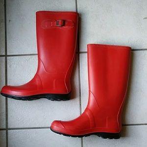 Kamik Olivia Red Rainboots!